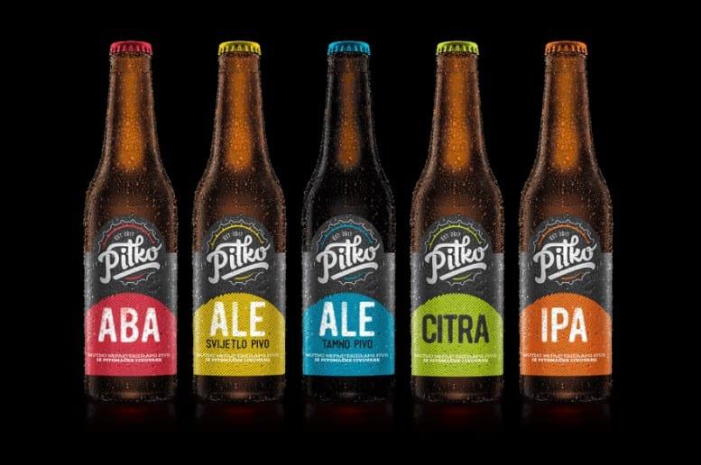 Pitko pet vrsta piva
