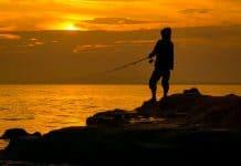 Pecanje uz obalu mora